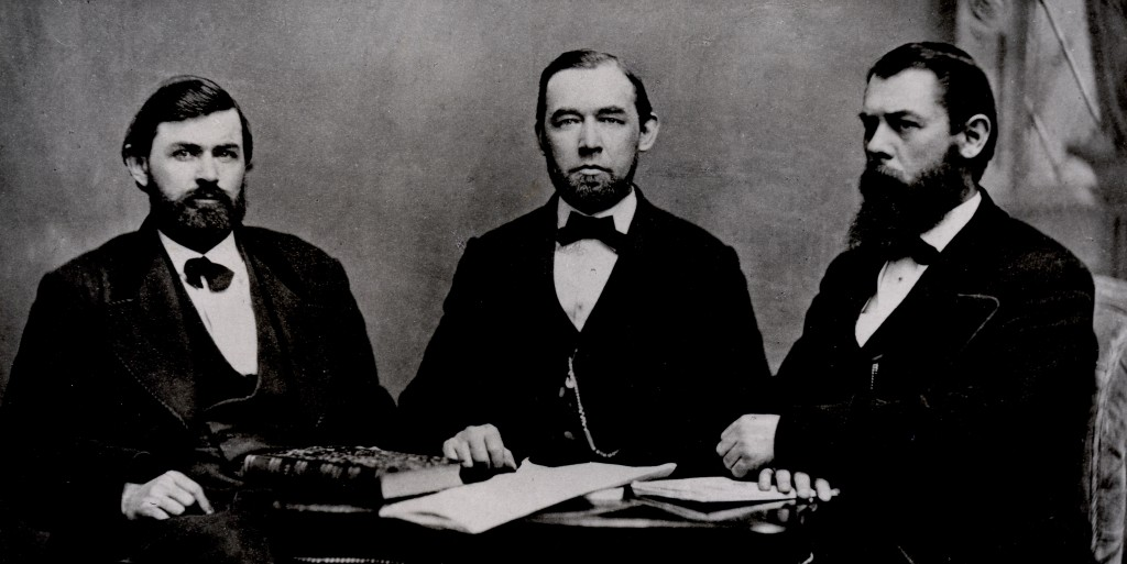 North Carolina Code Commission, ca. 1868. Victor C. Barringer, William B. Rodman, Albion W. Tourgee.